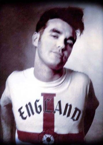 THE SMITHS - MORRISSEY - England canvas print - self adhesive poster - photo print